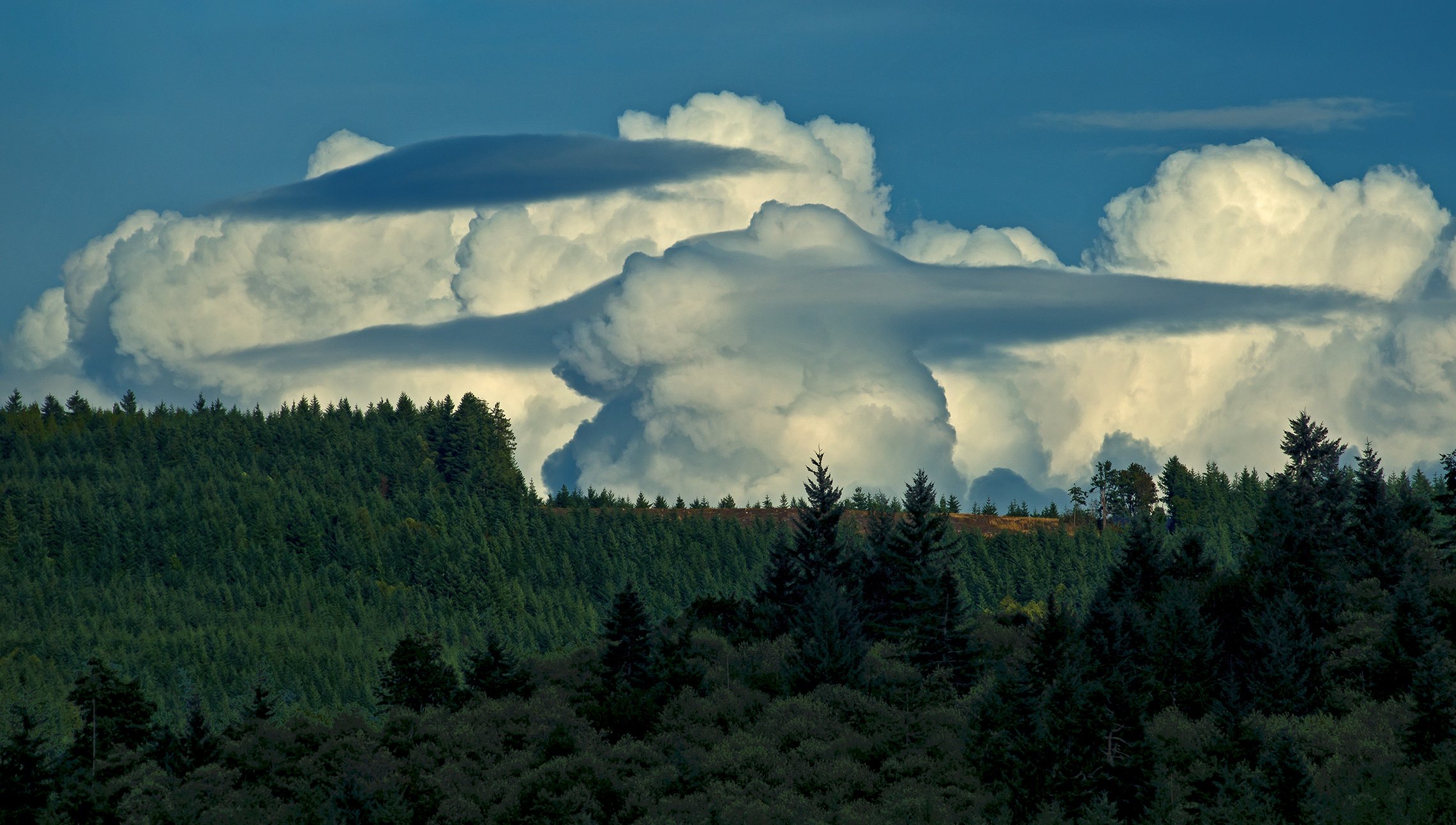 Clouds over Curtis Hill – Winner: Nature, by Jeffrey Seldomridge